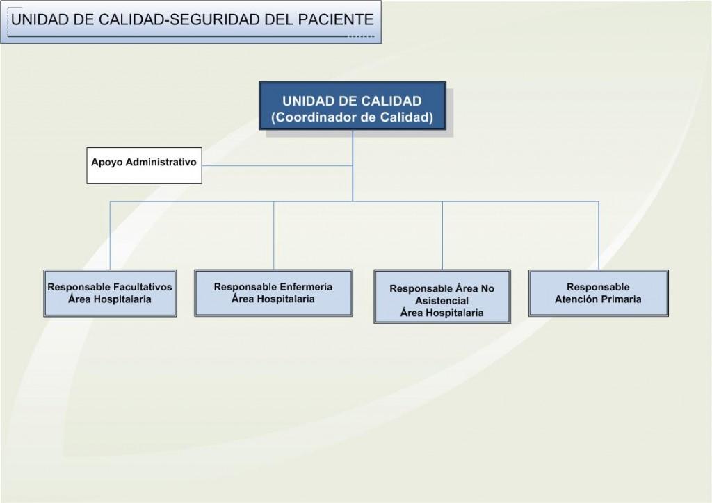 WEB IDFyC Organigrama Calidad 2013