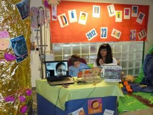 Día del Libro con los niños hospitalizados