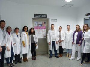 Profesionales del Servicio de Farmacia del HGUCR